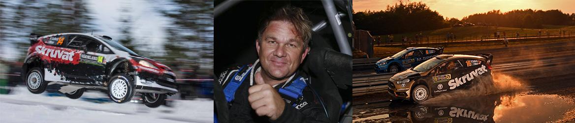 Henning Solberg WRC Rally Sweden - Bildelar