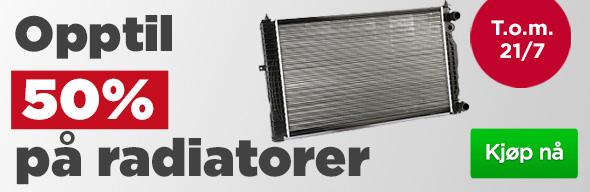 f5dda719 Denne uken er det ekstra bra pris på radiatorer. Vi har over 1000  radiatorer i vårt sortiment, og til de fleste bilmodeller. Sørg for at  bilen ruller hele ...