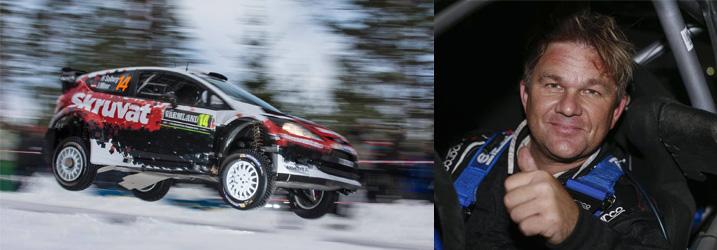Henning Solberg WRC Rally Sweden - Bildeler