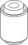 Lagring, styrestang, Bak, høyre eller venstre, På sporstang
