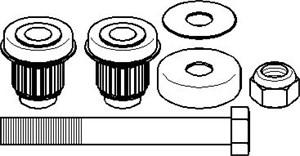 Reparasjonssett, reverseringsspak, Styrestag på mellomarm 1