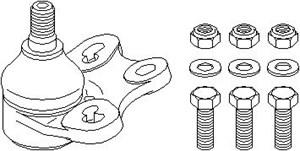 Kulled / Spindelled, Fram, höger eller vänster