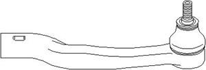Styreledd (ytre), Framaksel høyre