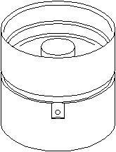 Reservdel:Mercedes Sprinter Vevtapp / ventillyftare, Utloppssida