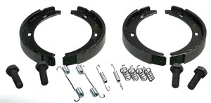 Brake Shoe Set, park brake, Rear