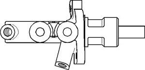 Reservdel:Mercedes E 290 Huvudbromscylinder