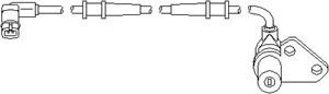 Sensor, hjulturtall, Foran, Framaksel høyre, Høyre