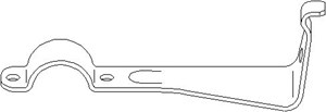 holder, stabilisatorlagring, Framaksel venstre