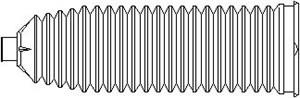 Styrväxeldamask, Framaxel, Höger eller vänster, Höger, Vänster