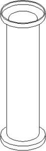 Hylsa, länkarmsbussning, Ytter, Bak, höger eller vänster