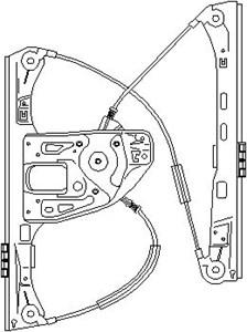Reservdel:Mercedes C 180 Fönsterhiss, Höger fram