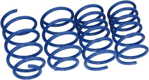 lowering springs, Front and rear