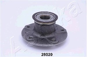 Wheel Hub, Rear axle