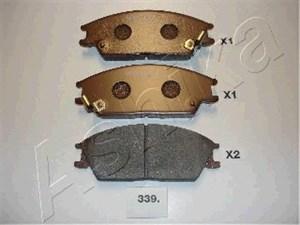 Bremseklodser, Bag, Foran