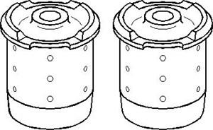 Reparationssats, axelkropp, Bak, Bak, höger eller vänster