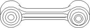 Stång/stag, krängningshämmare, Bakaxel, Bak, höger eller vänster, Höger eller vänster, Höger, Vänster