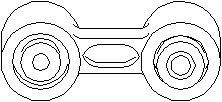 Tanko, kallistuksenvaimennin, Taka-akseli, Takana, Oikea tai vasen puoli, Taakse, oikea tai vasen puoli, Oikea, Vasen