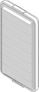 Reservdel:Bmw 745 Luftfilter