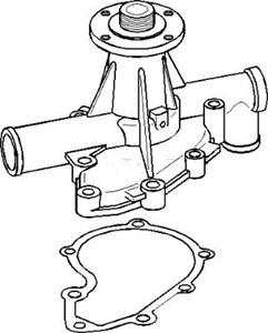 Reservdel:Bmw 316 Vattenpump