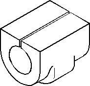 Lagring, stabilisator, Bak, høyre eller venstre