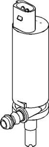 Spylerpumpe, lyskasterspyling