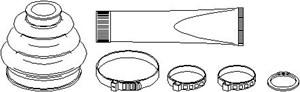 Paljekumisarja, vetoakseli, Takana, Pyörän puoli