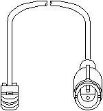 Slidindikator, bremsebelægning, Bag, Bagaksel, Foraksel, Foran eller bagved