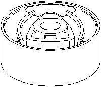 Lagring, fordelingsgirkasse, Bak, høyre eller venstre