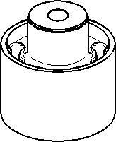 Lagring, akselbærer, Bak, Bak, høyre eller venstre