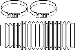 Reservdel:Bmw Z3 Styrväxeldamask, Höger eller vänster