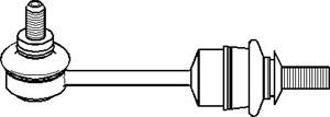 Stång/stag, krängningshämmare, Bak, höger eller vänster, Höger, Vänster
