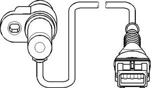 Sensor, kamakselposisjon, Inntaksside