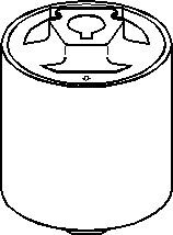 Lagring, styrestang, Foran, høyre eller venstre