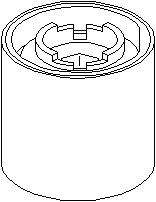Lagring, bærebru, Foran, høyre eller venstre