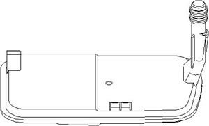 Reservdel:Bmw 316 Oljefiltersats, automatväxellåda