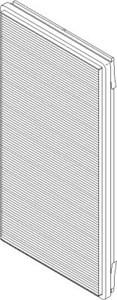 Reservdel:Bmw X5 Kupefilter