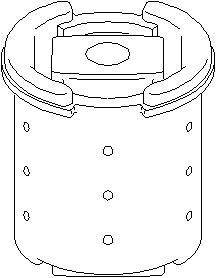 Reservdel:Bmw 520 Axelupphängning, Bak, höger eller vänster
