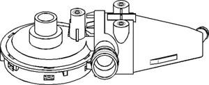 Reservdel:Bmw 520 Ventil, vevhusventilation, Cylindrisk skalle