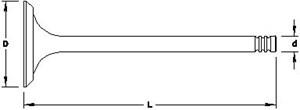 Reservdel:Bmw 316 Avgasventil