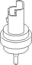Reservdel:Citroen C3 Kylvätsketemperatur-sensor
