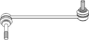 Stang/led, stabilisator, Venstre foraksel