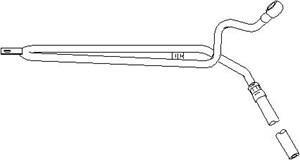 Reservdel:Bmw 316 Hydraulikslang, styrsystem