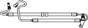 Hydrauliikkaletku, ohjaus, Hydrauliikkapumpusta ohjausvaihteeseen