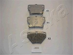 varaosat:Toyota Yaris Jarrupalasarja, levyjarru, Taka-akseli