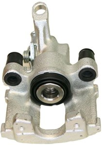 Brake Caliper, Rear, Left, Behind the axle