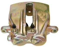 Brake Caliper, Front, Left, Behind the axle