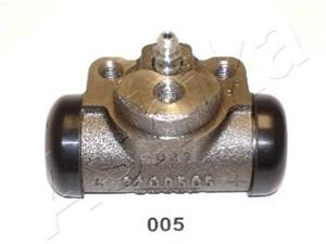 Hjulbremsecylinder, Bagaksel