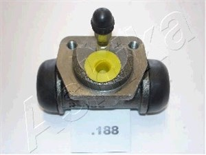 Hjulcylinder, Bakaxel
