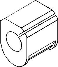 Lagring, stabilisator, Innvendig, Foran, høyre eller venstre