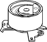 varaosat:Citroen C4 Kiristysrulla, hammashihnat, Vasen